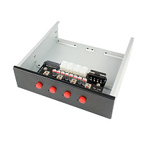 XT-XINTE Intelligent 4/6 Hard Disk Controller Management System Hub HDD SSD Power Switch For Desktop PC Computer
