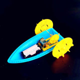 Feichao DIY Hand-made Smart Development Electric Boat Assembly Model Technology Educational Toys For Kids