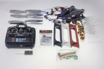 F550 Drone Heli FlameWheel Kit With QQ SUPER Control Board ESC Motor Carbon Fiber Propellers + RadioLink 6CH TX RX