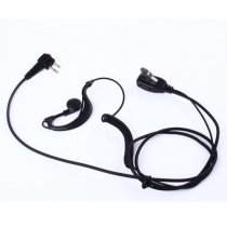 2-Prong Ear Hook Earpiece Headset PTT MIC for Baofeng UV5R Two-Way Radio