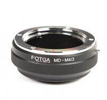 FOTGA MD-M4/3 Lens Adapter For MINOLTA MD Lens to Olympus Panasonic Micro Camera Body