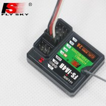 FlySky FS-IA4B 2.4G 4CH Receiver Support Data Backhaul PPM Output iBus Port for FS i4 i6 i10 iT4S Transmitter RC Car Boa