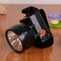 LED Miner's Lamp Fishing Hunting Lamp Rechargeable Headlamp Camping Light
