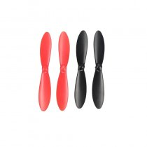Original Hubsan H107-A35 Propeller Set for Hubsan H107D/H107L/H107C Quadrocopter 4-axis RC Aircraft Color Black and Red