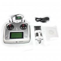 Flysky FS-i6S 2.4G 10CH AFHDS Touch Screen Transmitter + FS-iA6B 6CH Receiver + Mobile Holder Self Center Throttle Model