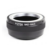 FOTGA M42-M4/3 Lens Adapter For M42 Lens to Olympus panasonic micro Camera Body