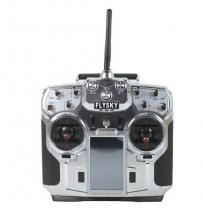 FlySky FS-i10 T6 2.4g Digital Proportional 10 Channel Transmitter and Receiver System 3.55 LED Screen