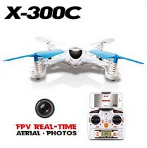 MJX X300C FPV RC Drone 2.4G 6 Axis Headless Mode RC UAV Quadcopter with Built-in HD Camera Support Real-time Video