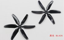 10pairs Kingkong 6-blade CW CCW Propeller 5 inch Props 5x4x6 for MINI Quadcopter Racing Drone Single-color