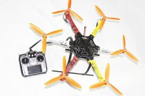 F05114-AF F550 Hexa-Rotor Frame FlameWheel Kit RTF UFO Assembled Kit with Landing Gear Radiolink AT10 TX&RX NO Battery A
