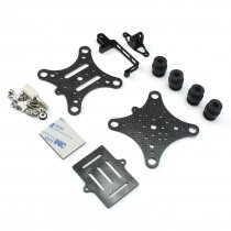 Carbon Fiber Camera Gimbal Mount FPV Damping PTZ for DJI Phantom Quadcopter Multicopter Gopro Hero 3