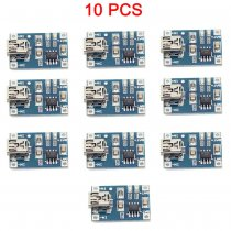 10PCS TP4056 1A Lipo Battery Charging Board Charger Module lithium battery DIY