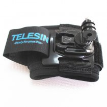 TELESIN 360degree Adjustable Waist Belts Mount Strap for Gopro Hero 4 3+ Xiaomi Yi Action Camera Sporting Ski Diving Sur