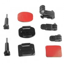 OEM Helmet Front Mount Bracket J-Hook Buckle for GOPRO HERO3/3+/4/5 gitup git1 git2 Camera