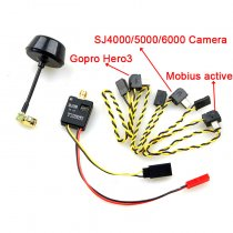 FPV 5.8ghz 5.8G 600mW 32 Channel Mini Wireless Audio Video AV Transmitter for Gopro Hero3 Mobius808 SJ4000 SJ5000 GITUP