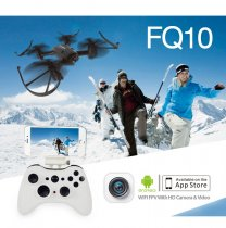 FQ777 FQ10 WiFi Drone with 720P Camera RTF 6-axis Gyro RC Quadcopter 2.4GHz Mini Pocket Drone Dron FPV RC Helicopter