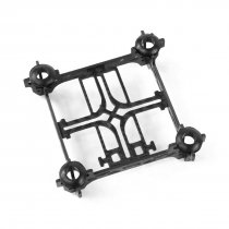 Super Licht Tiny QX80 80mm Mini 4-Axle Koolstofvezel Frame met Motor Mount Protector voor DIY Indoor FPV Quadcopter bors