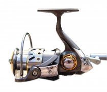 S01171 Diaodelai DK12+1 Cnc Metal Folding Rocker Fishing Vessel Spinning Reel Fishing Gear Collapsible Handle DK-6000