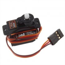 EMAX High Sensitive Mini Sub Micro Servo ES08A 8G ES08 for RC Helicopter Airplane