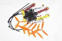 F05114-AB F550 Hexa-Rotor Air Frame FlameWheel Kit RTF Assembled with Landing Gear Radiolink 6CH TX&RX NO Battery Adapte