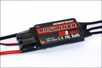 Hobbywing SkyWalker UBEC 80A BEC 2-6S Lipo Speed Controller Brushless ESC for RC Drone Helicopter Aircraft