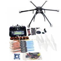 Six-Axis Hexacopter Unassembled GPS Drone Kit with Flysky FS-i6 6CH 2.4G TX&RX APM 2.8 Multicopter Flight Controller