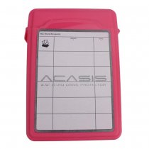 14248TW ACASIS AC-35 3.5 inch Hard Disk Protection Box Storage Hard Cover HDD Enclosure Case Color Red