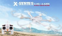White MJX X600 2.4G 6 Axis 3D Roll FPV Wifi Helicopter RC Drone Quadcopter UFO No Camera with Extra Props