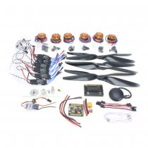 RC HexaCopter Six-axis Aircraft Electronic:700KV Brushless Motor FMT40A ESC 1255 Propeller GPS APM2.8 Flight Control