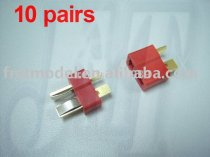 10Pairs Dean Connector T plug For Rc Helicopter ESC Lipo Li-po Battery