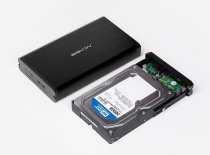 Universal Acasis BA-06USI 3.5inch Aluminum IDE SATA USB 2.0 Serial Parallel Dual Using HDD Enclosure Hard Drive Box