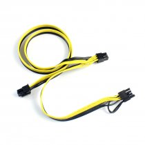 Modular PSU Power Supply Cables PCI e Molex 6pin to 2 PCI-e 8 pin 6+2pin PCI Express Internal Power Splitter Ribbon Cable