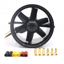 70mm Ducted fan 6 Blades EDF QF2827 Motor 2300KV/ 3500KV /3800kV Brushless Motor for RC Quadcopter Airplanes