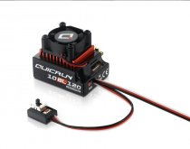 Hobbywing QUICRUN 10BL120 Sensored 120A / 10BL60 Sensored 60A 2-3S Lipo Speed Controller Brushless ESC for 1/10 1/12 RC Car