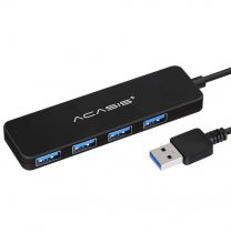 Acasis USB 2.0 3.0 Compact Portable High Speed Support Multipe USB Decice Hub for PC Laptop 4 Ports Extension Adapter