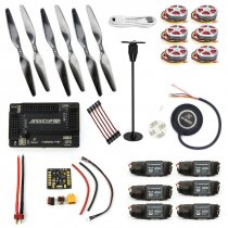 RC HexaCopter Six-axis Aircraft ARF Electronic:GPS APM2.8 Flight Control 350KV Brushless Motor FMT40A ESC