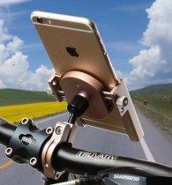 Bike Motorcycle Aluminum Phone Bracket Handlebar Mount Holder For Cell Phone GPS Universal Cycling Equipment