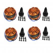 4pcs XT-XINTE HYD 3508 700KV 198W Disc Motor for Drone Aircraft Multirotor Quadcopter