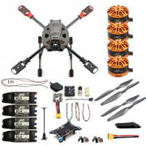 DIY 2.4GHz 4-Aixs Quadcopter RC Drone ARF 630mm Frame Kit Radiolink MINI PIX+GPS Brushless Motor ESC Altitude Hold