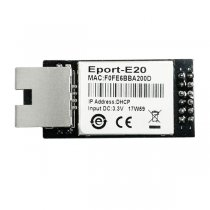 HF Super Ethernet Port FreeRTOS Eport-E20 Cortex-M3/96MHz Support TCP/IP/Telnet /Modbus TCP 921600 bps