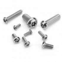 JMT 20Pcs M3 M4 Stainless Steel Screws Inner Plummer Strap with Needle and Screws