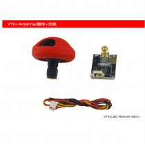 LDARC KingKong Parts VTX Antenna & 35A ESC & A2205 2500KV Motor & Nylon Fiber Paddles for FPV Wing 800X Thunder 600X EPO