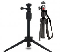 KINGJOY KT-200+BD-1 Portable Table Tripod Aluminum Mini Tripod Flexible Camera Ball Head Stand