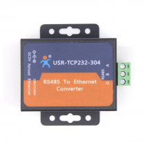 USR-TCP232-304 Serial RS485 to TCP/IP Ethernet Server Converter Module with Built-in Webpage DHCP/DNS Supported