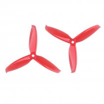 GEMFAN 2 Pairs Windancer 5042 5x4.2 Inch PC 3-Blade Propeller Props 5mm Mounting Hole 2 CW 2 CCW For RC Quadcopter Drone Models