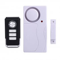 MingChuan Remote Control Door Alarm Anti-Theft Door and Window Security Alarm Magnetic Sensor for Kids Safety Entry Chime Apartment Alarm (Alarm with Remote Controller)