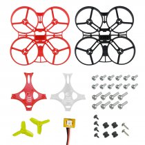 LDARC Tiny GT7 GT8 Parts Combo Set Frame Kit Canopy 1535 1940 Propeller Flight Controller 10A ESC 9000KV 7500KV Motor Camera VTX