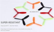 SHENSTAR 4045 / 5045 / 6045 Flat Paddle for FPV Racing Drone Quadcopter 4 inch /5 inch / 6 inch Reinforced 3-blade Propeller Props CW CCW