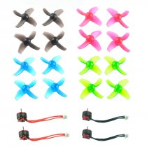 Happymodel Mobula7 Mobula 7 Spare Parts Replacement SE0802 1-2S CW CCW Motors 40mm Color Propellers
