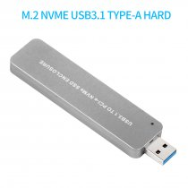 XT-XINTE LM903 M.2 NVME USB3.1 TYPE-A HDD Enclosure SSD Hard Disk Drive Case External Mobile Box